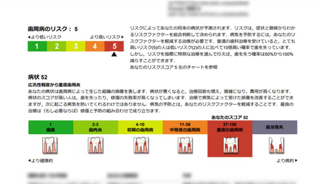 う蝕・歯周病のリスク評価